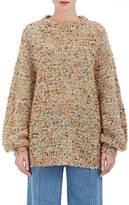 Chloé Women's Yarn-Embellished Knit Oversized Sweater