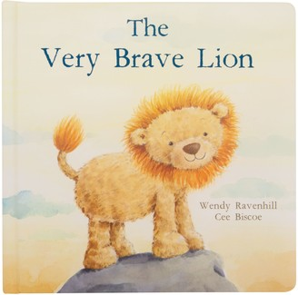 Jellycat The Very Brave Lion Children's Board Book