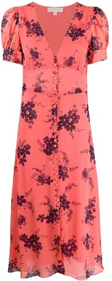MICHAEL Michael Kors Floral-Print Chiffon Dress