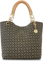 Tommy Hilfiger TH Signature Jacquard Large Reversible Tote