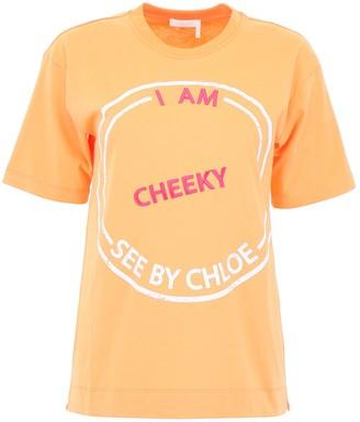See by Chloe Printed T-Shirt