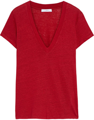 IRO Rodeo Slub Linen-jersey T-shirt