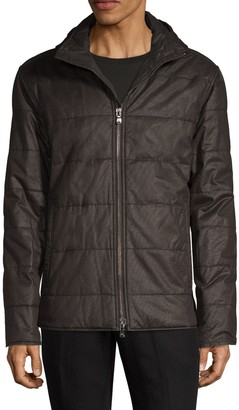John Varvatos Hooded Quilted Puff Jacket