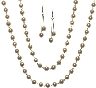 Linea By Louis Dell'olio by Louis Dell'Olio Chantilly Necklace & Earring Set