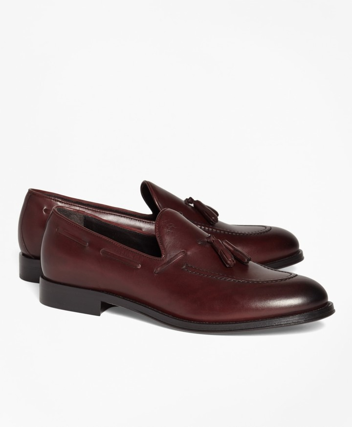 Brooks Brothers 1818 Footwear Leather Tassel Loafers