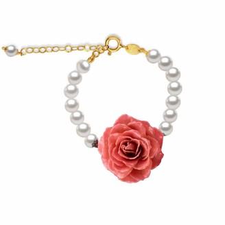Bellus Domina Natural Rose Pearl Bracelet