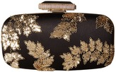 Oscar de la Renta Goa Embroidered Clutch Handbags
