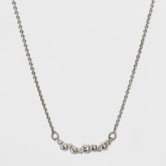 A New Day Cubic Zirconia Bar Necklace
