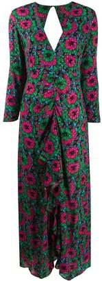 Rixo Rose floral maxi dress