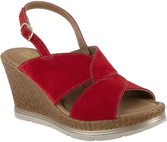 Bella Vita Italy Leather Wedge Sandals - Pep-Italy