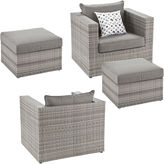 Asstd National Brand Atlantis 4-pc. Outdoor Seating Set