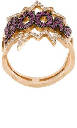 Diane Kordas BOOM! diamond ring
