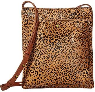 Madewell Slim String Bag in Haircalf (Desert Dune Multi) Handbags