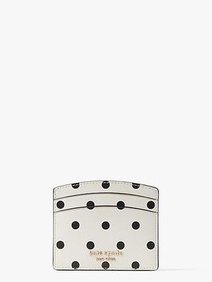 Kate Spade Spencer Cabana Dot Cardholder