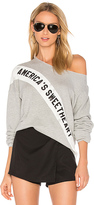 Wildfox Couture America's Sweetheart Pullover in Gray. - size M (also in S,XS)