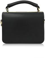 Sophie Hulme Finsbury Black Leather Satchel Bag