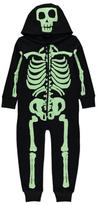 George Halloween Glow In The Dark Skeleton Onesie