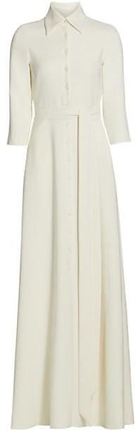 Theia Naomi Maxi Shirt Dress