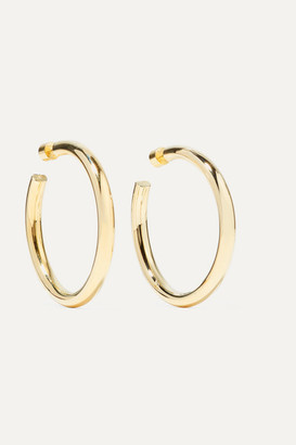 Jennifer Fisher Samira Gold-plated Hoop Earrings - one size