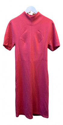 Carven Pink Cotton Dresses
