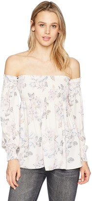 Show Me Your Mumu Women's Raquel Floral Smocked top
