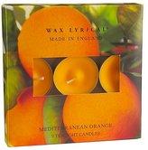 George Wax Lyrical Box of 9 Tealights- Mediterranean Orange