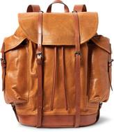 Dries Van Noten Cross-Grain Leather Backpack