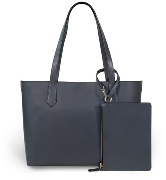 Modher Elba Tote Bag In Elephant Calfskin Leather