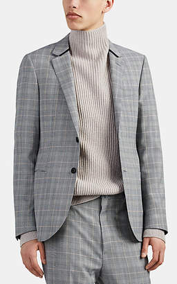 Lanvin Men's Checked Wool Two-Button Sportcoat - Gray