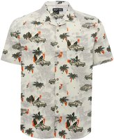 M&Co Tropical car print shirt