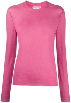 Bottega Veneta Crew-Neck Raglan-Sleeve Jumper