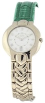 Versace V-Couture 18K White Gold 34mm Womens Watch