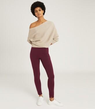 Reiss Tyne - Skinny Trousers in Bordeaux