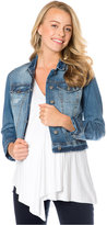 Jessica Simpson Maternity Cropped Denim Jacket