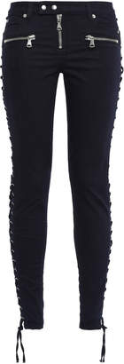 Faith Connexion Lace-up Mid-rise Skinny Jeans