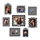 Dormify Butch and Harold Black Sticker Frame Set