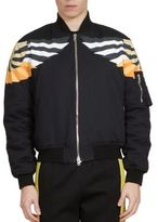 Givenchy Wings Print Bomber Jacket