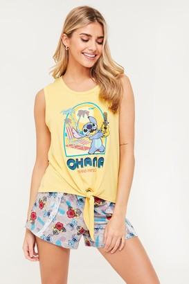 Ardene Stitch Ohana Cami and Shorts PJ set