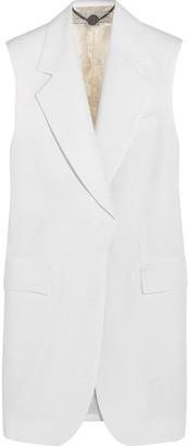 Stella McCartney Wool-pique Vest