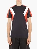 Neil Barrett Navy Retro Modernist T-Shirt