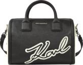 Karl Lagerfeld & Choupette Holiday duffle bag