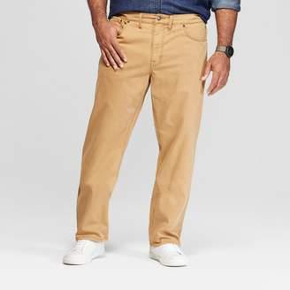 Men's Tall Slim Straight Fit Twill Pants - Goodfellow & CoTM Khaki