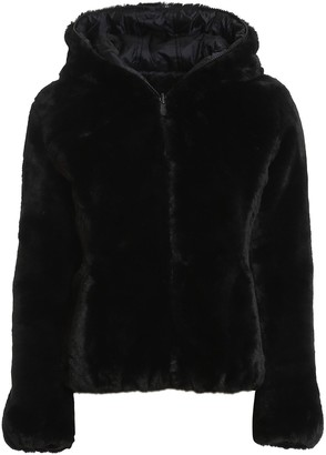 Save The Duck Eco Fur And Nylon Reversible Down Jacket I