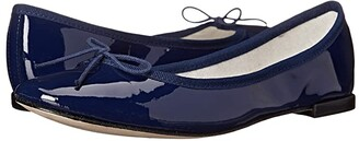Repetto Cendrillon (Navy Patent Leather) Women's Flat Shoes