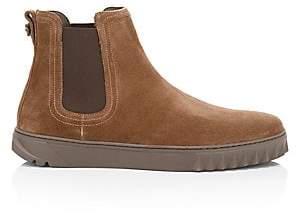 Salvatore Ferragamo Men's Talos Suede Chelsea Sneakers