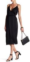 J.o.a. Sleeveless Woven Wrap Dress