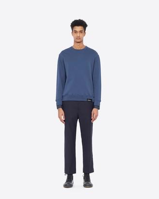 3.1 Phillip Lim Crewneck Sweatshirt with Shirt Cuffs