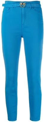Pinko Logo-Buckle Skinny Jeans