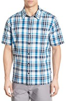 Patagonia Men's 'Puckerware' Regular Fit Check Short Sleeve Sport Shirt