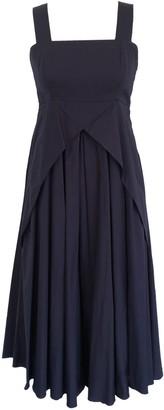 Onelady Cotton Midi Dress Navy Blue Delia